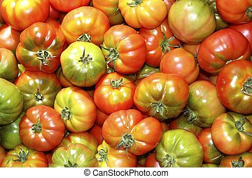 pomodoro, verdura, raff, mercato, pomodori