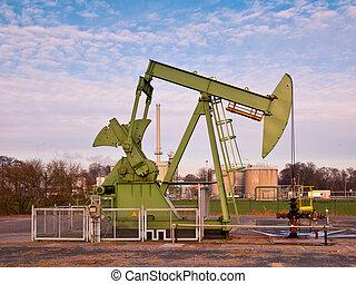 pompa olio, cricco