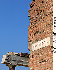pompe, ローマの残骸