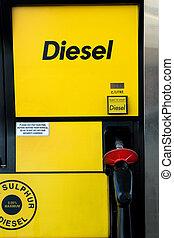 pompe, diesel