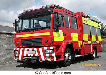 pompe incendie, britannique