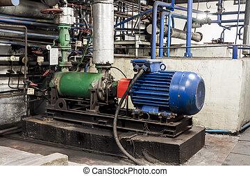 pompe, industriel
