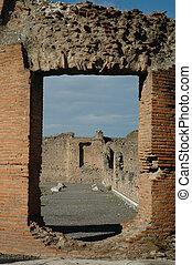 Pompeii Doorway