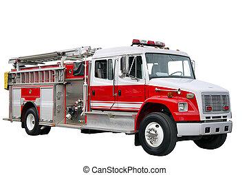 pompier, camion