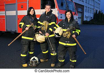pompier, filles