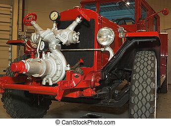 pompieri, camion