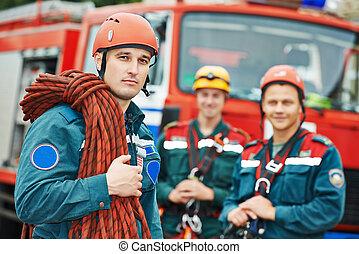 pompieri, squadra