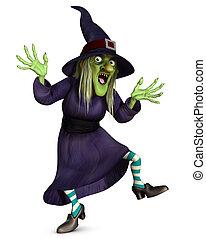 pomylony, czarownica