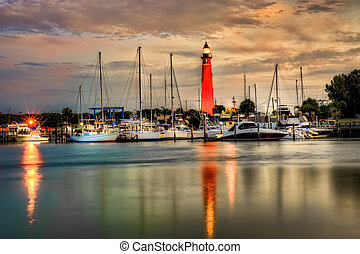 Ponce Inlet Lighthouse in Ponce Inlet, Florida