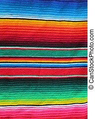 poncho fiesta Mexico Mexican cinco de mayo serape fiesta with stripes background