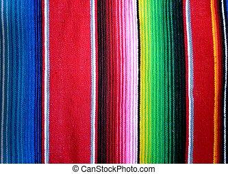 poncho, mexicain