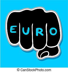 poncz, euro