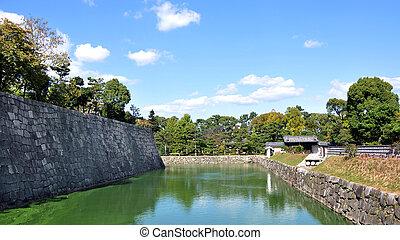 Pond at Nijo castle