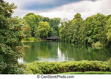 Vigeland park in Oslo