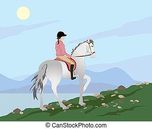 poney trekking