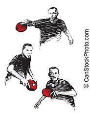 pong, ping, trío
