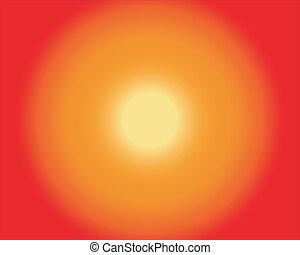 ponha ao sol experiência