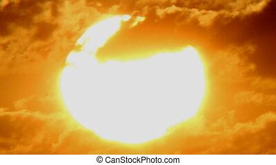 ponha ao sol experiência, lapso tempo