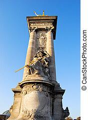 Pont Alexandre Statue