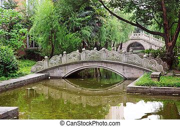 pont, arqué, chinois