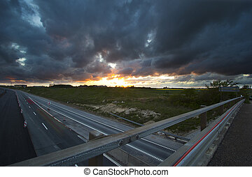 pont, autoroute