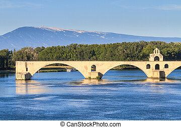 pont, avignon, frankreich, provence, saint-bénezet, brücke