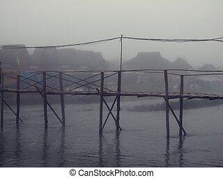 pont bois, mist.