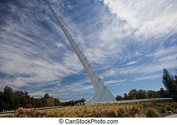 pont, cadran solaire