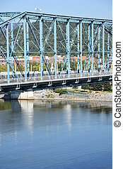 pont, chattanooga, rue, noix