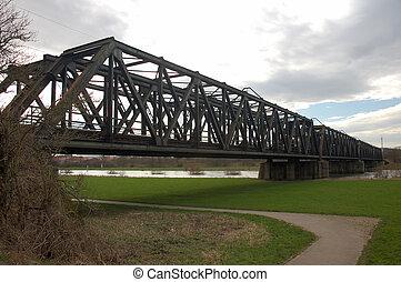 pont, chemin fer