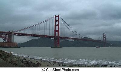 pont, chronocinématographie, portail, doré