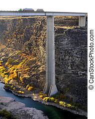 pont, conduite camion