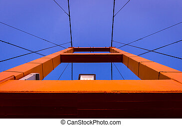 pont, construction, closeup, taksin, histoire