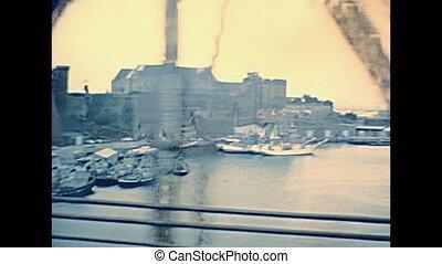 Pont de Recouvrance Brest - Old Pont de Recouvrance, a 1954...