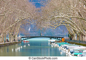 Pont des Amours in Annecy, France