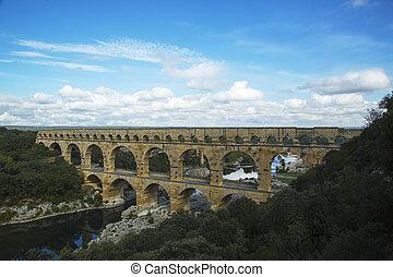 Pont,  Gard,  du, antenne, Udsigter