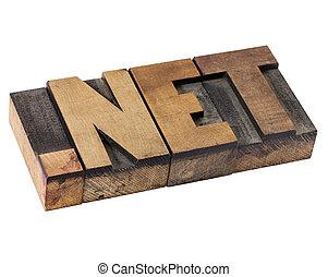 pont, háló, -, internet, birtok