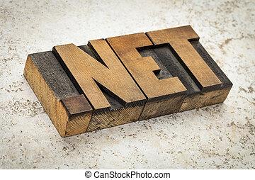 pont, háló, internet, birtok