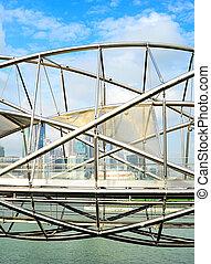 pont, hélix, singapour
