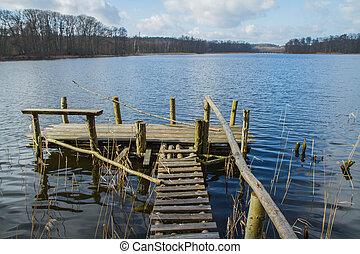 pont, lakeside