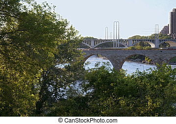 pont pierre, voûte