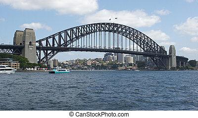 pont port, sydney, australie