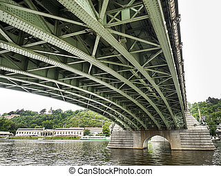 pont, prague, sous