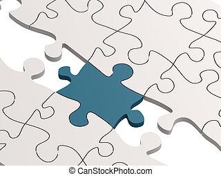 pont, puzzle, bue