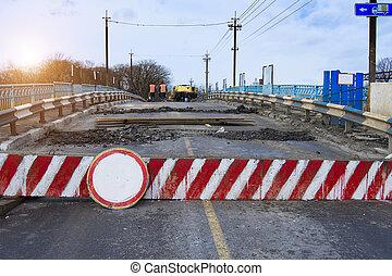 pont, réparation