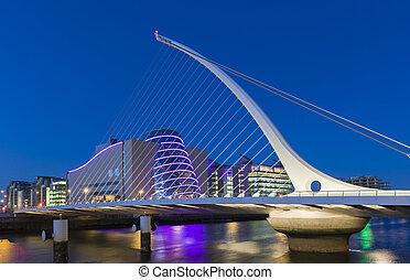 pont, samuel, dublin, irlande, beckett