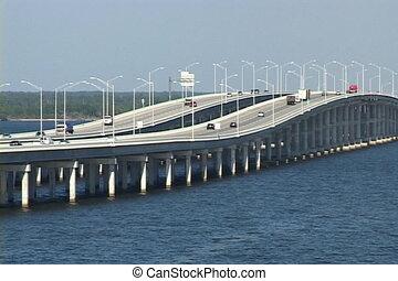 pont, trafic