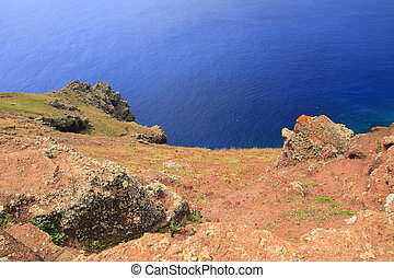Ponta do Sao Lourenco is the easternmost peninsula of ...
