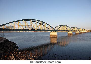 ponte, antigas, portugal, portimao, algarve, ferrovia