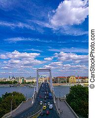 ponte, budapest, elisabeth, ungheria